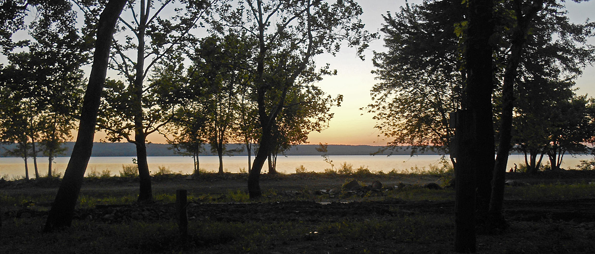 River Sunset at MillPoint RV Park