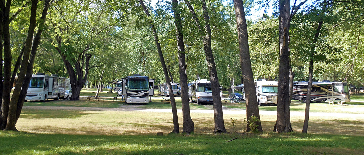 Campsites at MillPoint RV Park