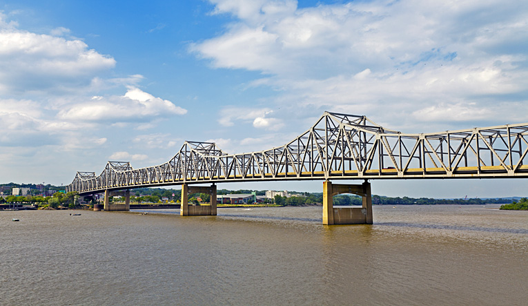 Bridge over the Illinois River