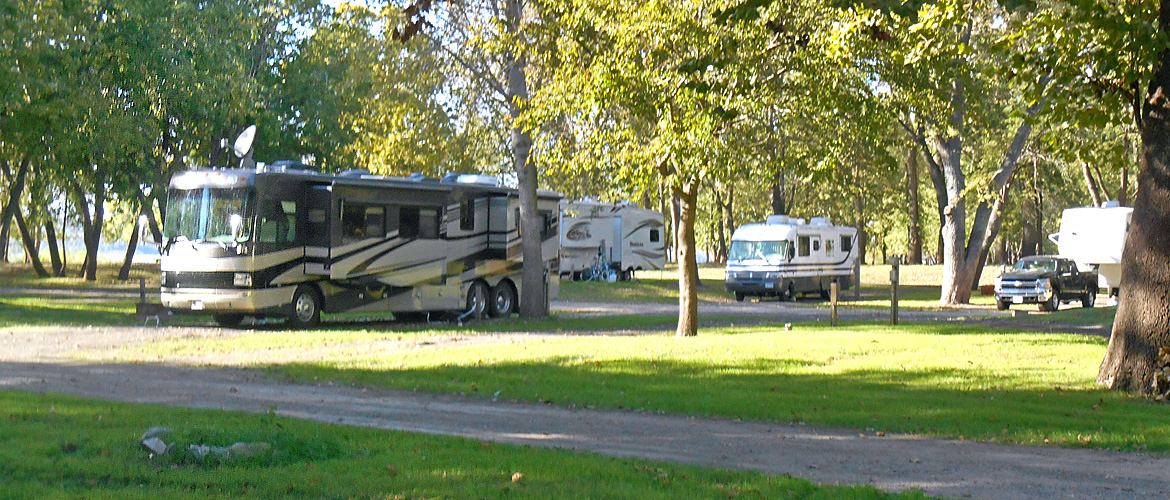 Pull-Thru Sites at MillPoint RV Park