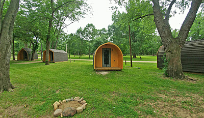 MillPoint RV Park Camping Pods