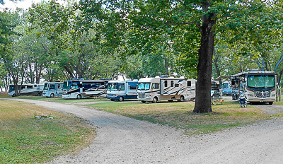 Mill Point RV Park Pull-Thru Campsites