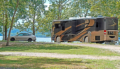 Mill Point RV Park Waterfront Campsite